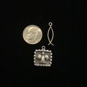 Sterling Silver spiritual Charms (2)